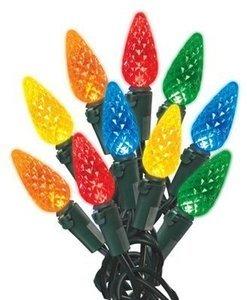 Holiday Wonderland Christmas C6 LED Light Set