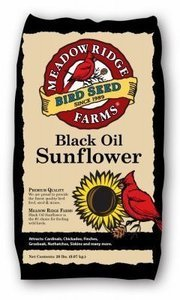 20 lb. Black Oil Sunflower Bird Seed