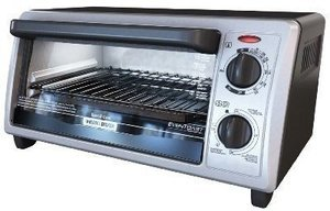 Black & Decker 4-Slice Toaster Oven/Broiler