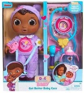 Disney Junior Doc McStuffins Get Better Baby Cece Set