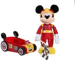 Disney Junior Mickey and the Roadster Racers Racing Adventure Stuffed Mickey