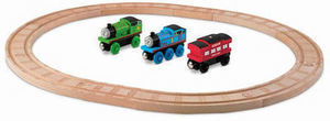 Thomas & Friends Wooden Railway Thomas and Percy Starter Set