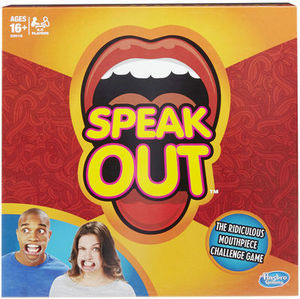 Speak Out Mouthpiece Challenge Game
