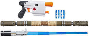NERF Star Wars Bladebuilders Rey Starkiller Base Mission Pack