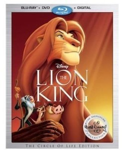 Disney: The Lion King Signature Collection Blu-Ray Combo Pack (Blu-Ray/ DVD/ Digital HD)