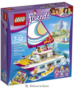 LEGO Friends Andrea' s Speedboat Transporter