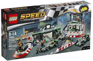 LEGO Speed Champions Mercedes AMG Petronas Formula One Team