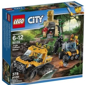 LEGO City Jungle Explorers Jungle Halftrack Mission