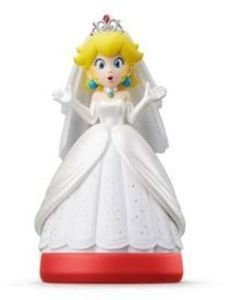 Nintendo Peach Wedding Outfit Amiibo Figure