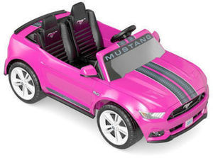 Power Wheels Smart Drive Ford Mustang 12 Volt Ride On