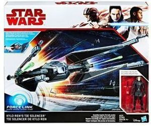 Kylo Ren and TIE Silencer Figures