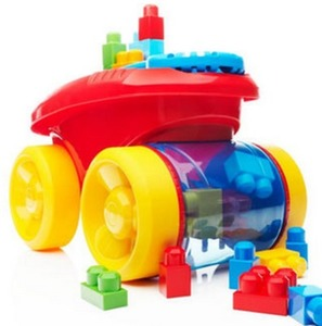 Mega Bloks Block Scooping Wagon Set