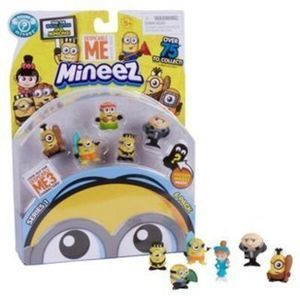 Despicable Me Mineez Deluxe Character 6-Pack