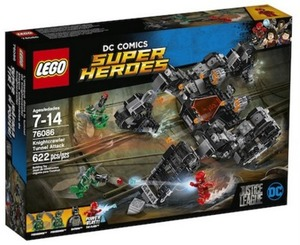 LEGO Super Heroes DC Comics Justice League Knightcrawler Tunnel Attack
