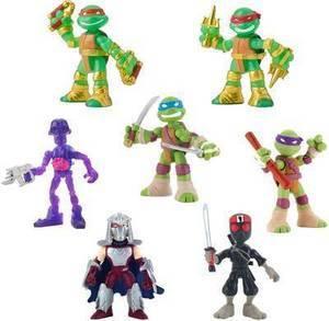 Teenage Mutant Ninja Turtles Micro Pack Action Figures