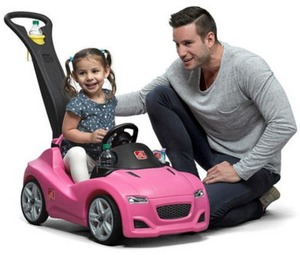 Step2 Whisper Ride Cruiser Push Buggie - Pink