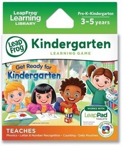 LeapFrog Learning Game: Get Ready for Kindergarten