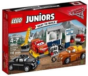LEGO Juniors Disney Pixar Cars 3 Smokey's Garage