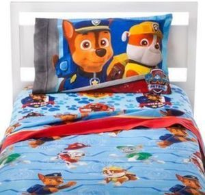 Paw Patrol All Paws on Deck! Sheet Set