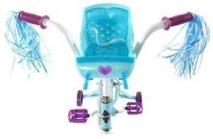 Huffy Disney Frozen Cruiser Bike with Sleigh - 14""