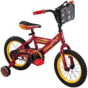 "Kids Huffy Disney Cars 3 - 14"" Bike"