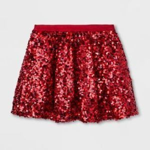 Girls' Sequin Tutu Skirt