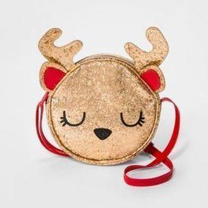 Cat Jack Reindeer Crossbody Bag