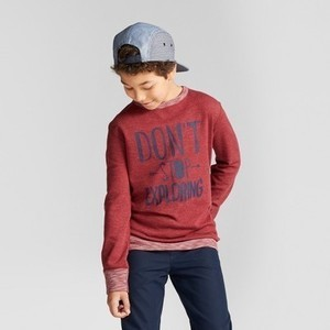 Boys' T-Shirt - Cat & Jack Red