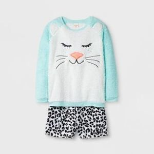 Cat & Jack Girls' Pajama Set with Shorts