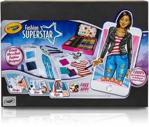 Crayola Fashion Superstar Digital Clothes Designing Kit