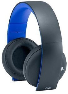 Sony Gold Wireless Headset For Sony Play Station 4 + $15 Kohls Cash