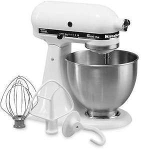 KitchenAid KSM75 Classic Plus 4.5-qt. Stand Mixer Kitchen Aid Classic Stand Mixer