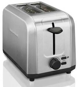 Hamilton Beach 2-Slice Stainless Steel Toaster After Rebate