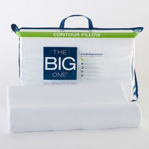 The Big One Gel Contour Memory Foam Pillow