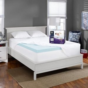 Serta 3-In  Perfect Temp Gel Memory Foam Twin Mattress Topper