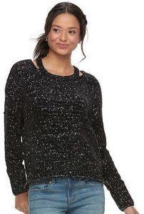 Juniors Mudd Chenille Pullover Sweaters