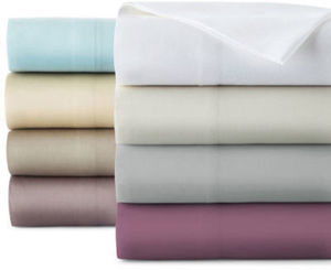 Liz Claiborne Liquid Cotton 100% PIMA Cotton Sheet Set