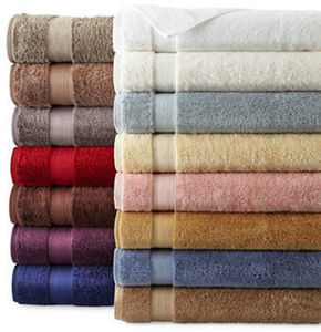 "Royal Velvet Verona 30x58"" Luxury Egyptian Cotton Loops Solid Bath Towel"