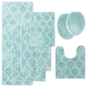 "JCPenney Home Bri 17x24"" Bath Rug"