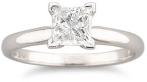 1 CT. Certified Diamond Solitaire Ring 1 c.t. Diamond Ring