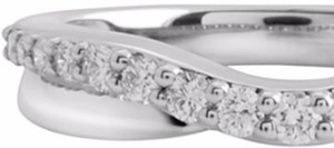 1/4 CT. T.W. Diamond Ring 10K White Gold Select 1/4-1 Ct. T.W. Diamond Rings in 10K/14K Gold