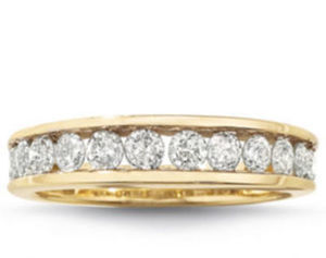 1/4-1 Ct. T.W. Diamond Rings in 10K/14K Gold