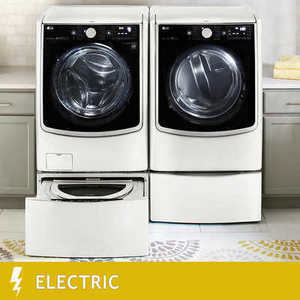 LG TwinWash Mega Capacity Front Load Laundry Pair