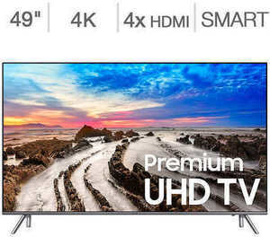 "Samsung 49"" Class 4K Ultra HD LED LCD TV"
