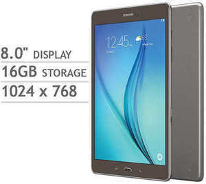 "Samsung Galaxy 8"" Tab A Quad CorevWi-Fi Tablet & Bonus Sleeve"