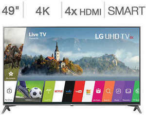 "LG 49"" Class 4K Ultra HD LED LCD TV"