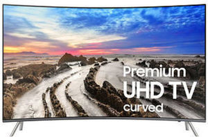 "Samsung 55"" UN55MU850D  Curved 4K UHD Smart LED TV"