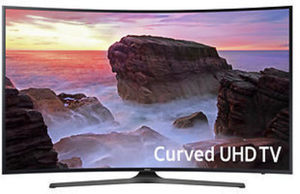 "Samsung UN65MU650D 65"" Curved 4K Smart TV"