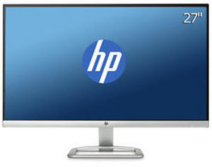 "HP 27"" 1080p LCD LED Monitor"