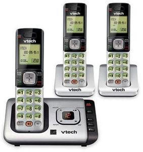 VTech DECT 6.0 3-Handset Cordless Phone